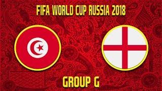 FIFA World Cup 2018 | Tunisko - Anglie | Group G | CZ/SK