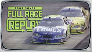 NASCAR Classic Race Replay: 2005 MBNA NASCAR RacePoints 400 | Dover International Speedway