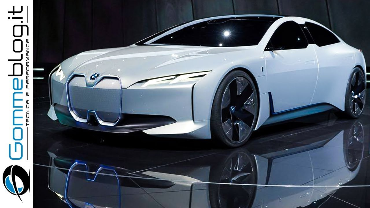 Bmwi Vision Dynamics Full Electric Sport Luxury Sedan Car