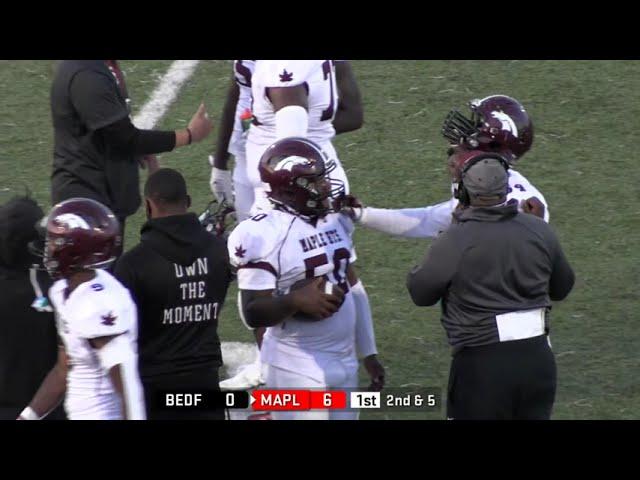 Maple Heights Mustangs vs. Bedford Bearcats Football