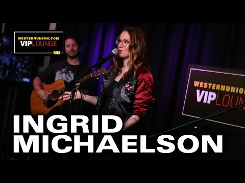 "Ingrid Michaelson Performs ""Girls Chase Boys"" & ""Hell No"" Live"