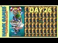 Holiday Mashup World 😎 - Plants vs Zombies 2 🌻 - Day 26 Impossible (War)