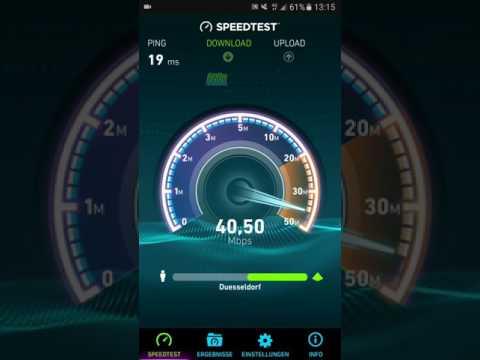 Telekom.de 4G und 4G+ Speedtest !