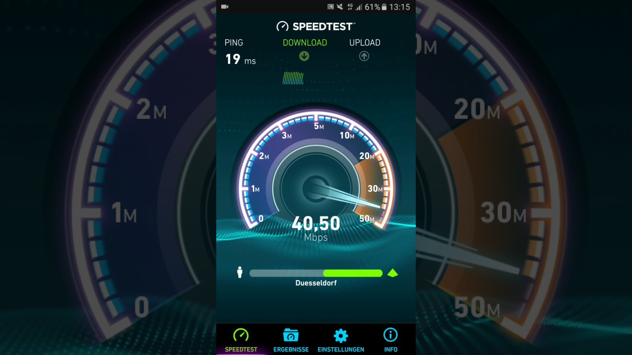 Telekomde 4g Und 4g Speedtest Youtube