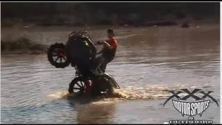 Honda Ag Tires Pullin Water Wheelies