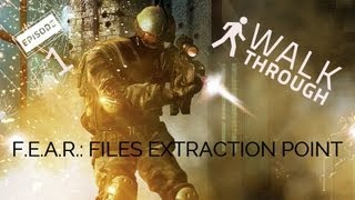 F.E.A.R. Files: Extration Point - Part 1 - Interval 01 Contamination Aftermath - Gameplay
