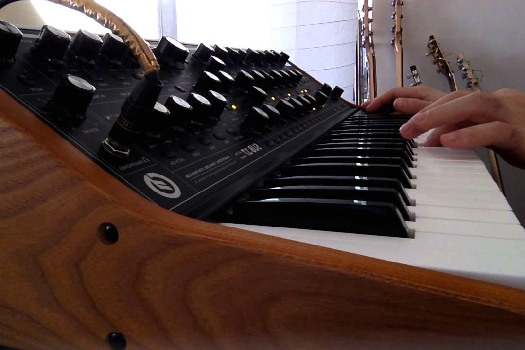Moog Sub 37 G Funk Synth patch