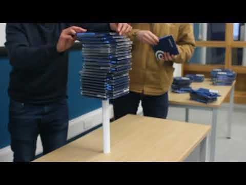 Newcastle University Marine Technology - paper column challenge