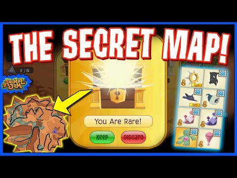 SECRET FORGOTTEN DESERT MAP GETS YOU RARE ON ANIMAL JAM!