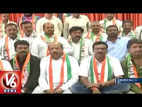 Telangana Congress Announces First List Of Candidates, Ticket Aspirants To Leave Party | V6 News
