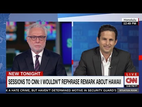 CNN: Sen. Schatz: Jeff Sessions Doesn't Get it