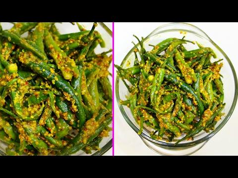 Hari Mirch ka Achaar (हरी मिर्च का आचार)   Instant Green Chilli Pickle   CookWithNisha