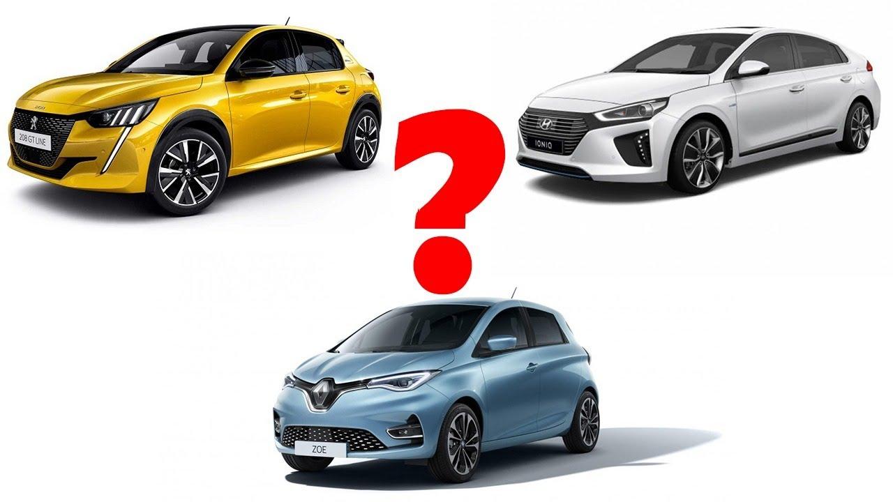 Ce masina electrica sa cumpar? Peugeot e208, Hyundai Ioniq sau Renault Zoe?