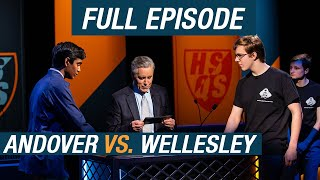Andover vs. Wellesley | Qualifying Round | High School Quiz Show (1108)
