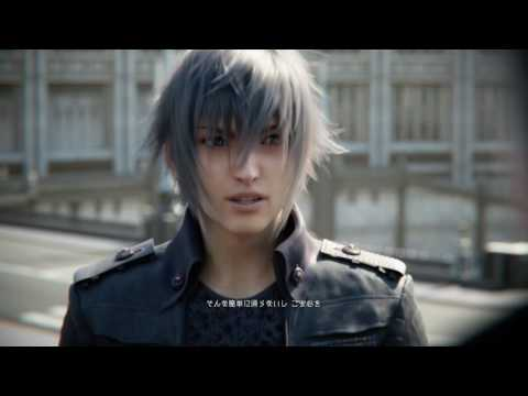 FINAL FANTASY 15 OPENING & New Trailer from JUDGEMENT DISC (Japanese)