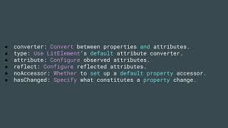 Web Components Part 5