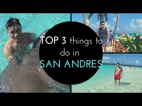 TOP 3 Things To Do In San Andres COLOMBIA