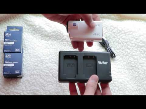 The Best Sony FDR-X3000 Charger for NP-BX1 Batteries- Un-Boxing And Review