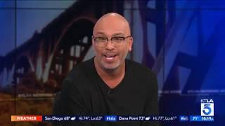 "Jo Koy Roasts the KTLA Anchors & Shares New Netflix Special ""Comin' In Hot"""