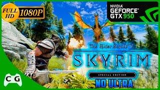 Skyrim Special Edition Gameplay GTX 950 no Ultra 1080p Roda ? #92