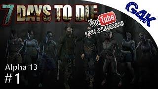 7 days to die   messing around in a13   7 days to die gameplay alpha 13   s05e01