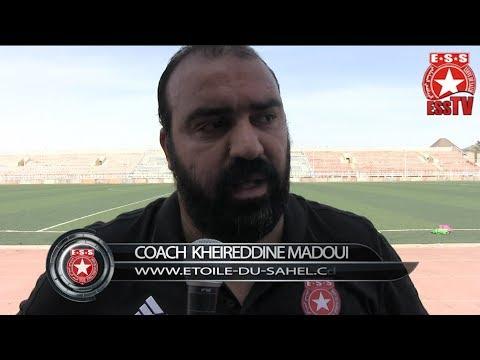 Foot - CL 2018 - Plateau United (NGA)/ESS - Interview- Coach Kheireddine Madoui