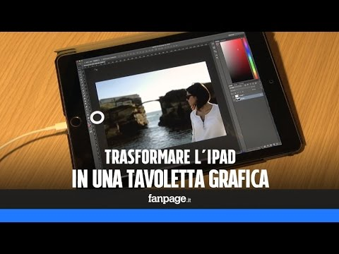 Trasformare L'iPad In Una Tavoletta Grafica