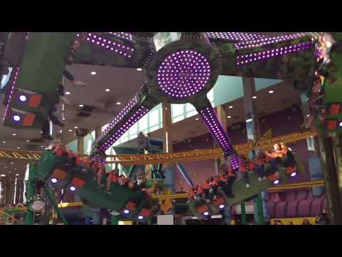 West Edmonton Mall's newest ride sparks nerves and grins