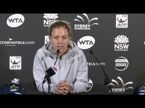 Angelique Kerber Press Conference (QF) | Sydney International 2018