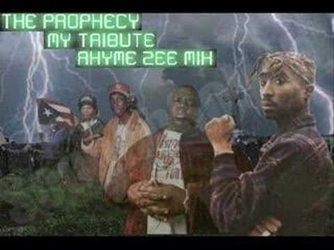 Eazy E Biggie 2Pac Big L Proof Big Pun Bob Marley-My Tribute