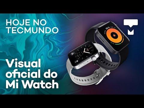 """xiaomi-mi-watch-revelado,-celular-dobrável-""""flip""""-da-samsung,-preço-do-hbo-max---hoje-no-tecmundo"""