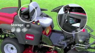 The all new TORO Groundsmaster 360 Quad - Steer and reviews from USA