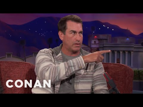 Rob Riggle Worked Out With The Seattle Seahawks   CONAN on TBS