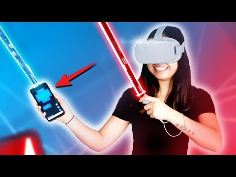Oculus Go & Your Phone As 2nd Controller!! - An Inexpensive Way To Play PC VR Games