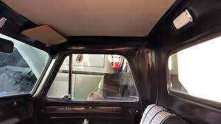 1965 Chevy Truck interior