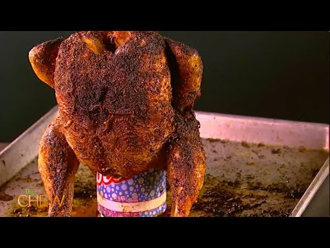 Michael Symon's Beer Can Chicken Recipe | The Chew
