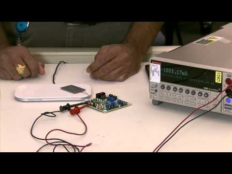 Dual-Mode Wireless Power Receiver Demonstration