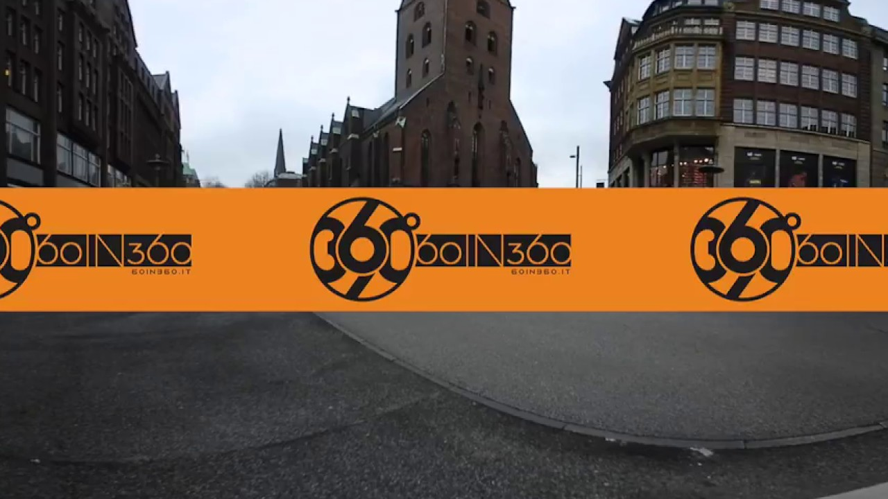 60in360.it   Incrocio a 360°   Amburgo   Chiesa di San Pietro   Experience