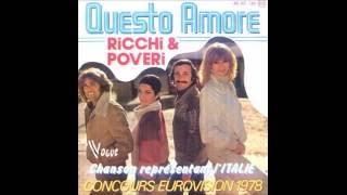 1978 Ricchi & Poveri - Questo Amore