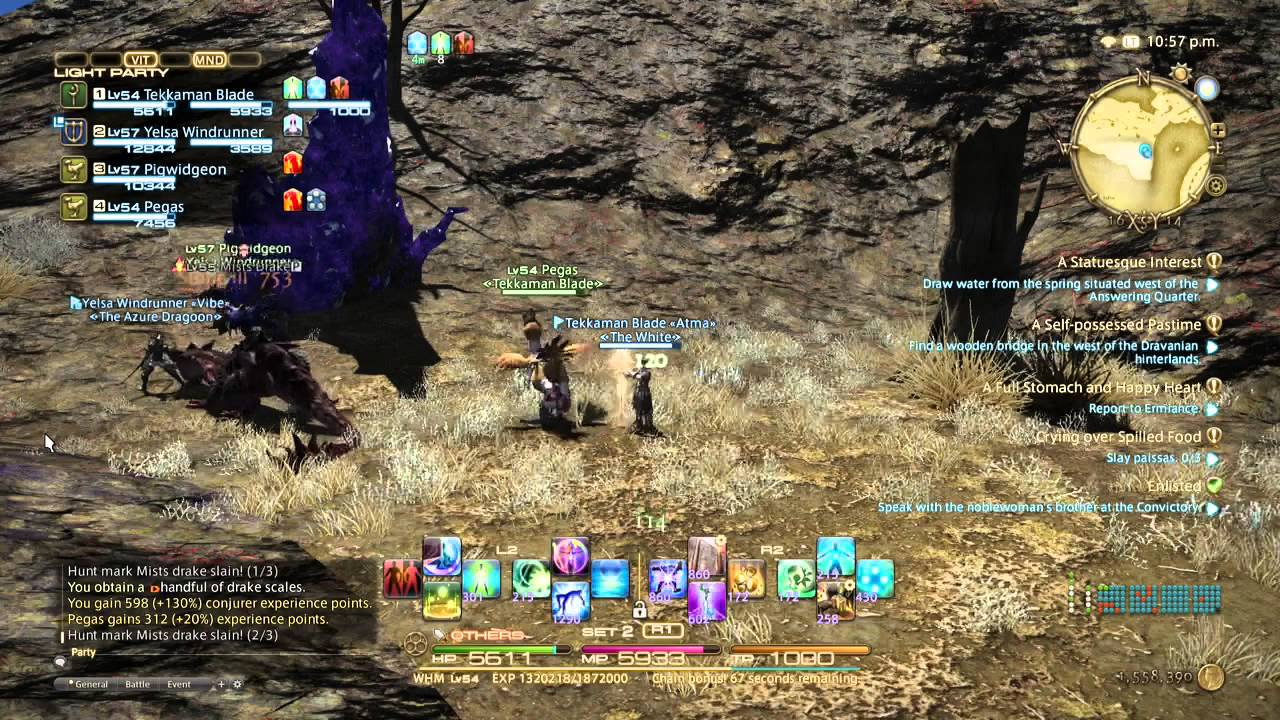 Ffxiv Best Way To Level From 50 To 60 Youtube