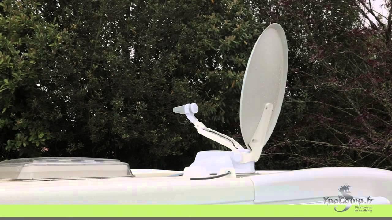 Comment utiliser une antenne automatique Teleco ? - YpoCamp - YouTube