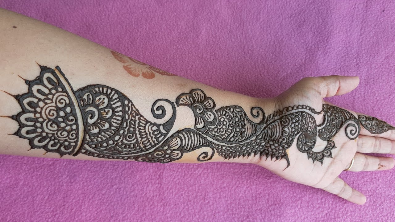 13 Unique Henna Designs Doing The Rounds This Wessing: Easy And Unique Mehndi Designs