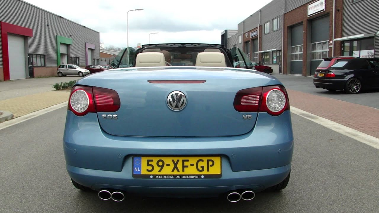 vw eos v6 cabrio double exhaust system by maxiperformance. Black Bedroom Furniture Sets. Home Design Ideas