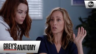 Megan Talks To Teddy About Owen - Grey's Anatomy Season 15 Episode 20