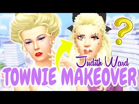 JUDITH WARD Townie Makeover | The Sims 4: MM | GET FAMOUS thumbnail