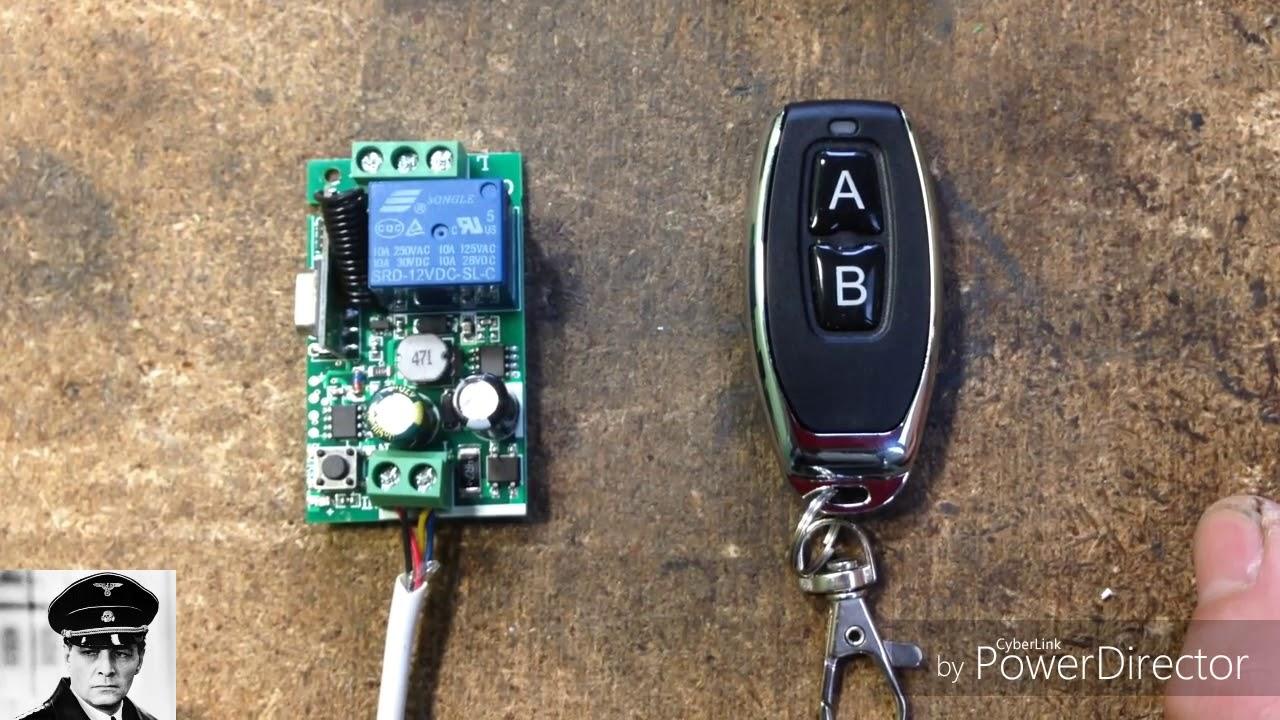 Модуль и блок дистанционного управления с AliExpress