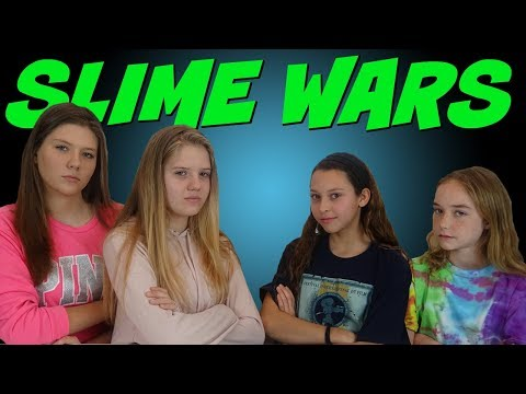 SLIME WARS TAYLOR & VANESSA VS KENDALL & MIMI || SLIME CHALLENGE || Taylor and Vanessa
