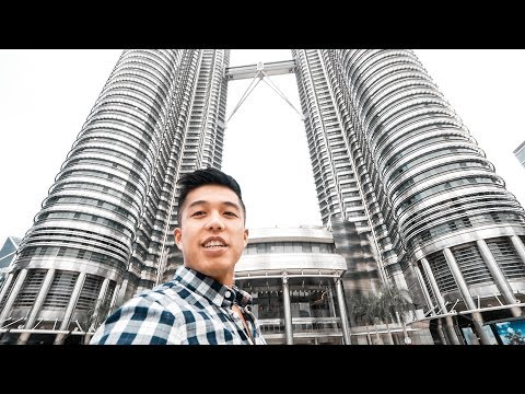 EXPLORING KUALA LUMPUR!!! CHINATOWN AND THE PETRONAS TOWERS!!!  (174 | Southeast Asia Travel VLOG)