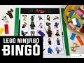 LEGO NINJAGO MOVIE BINGO | Free Printable Game
