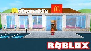 Roblox → BUILDING a MCDONALD's!! -McDonald's Tycoon 2 🎮